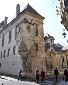 Paris 3e - Angle des rue des Francs-Bourgeois et de la rue Pavée - Hôtel de Lamoignon