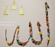 Ribbon Embroidery Calligraphy Lafz AlJalaleh by RibbonEmroidery