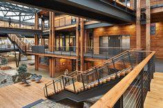Federal Center South – Building 1202 | ZGF Architects LLP. Photo © Benjamin Benschneider | Bustler
