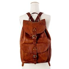 Madewell leather backpack // the practical alternative to a purse $235