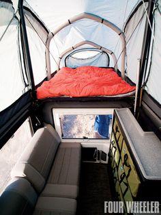 EarthRoamer interior