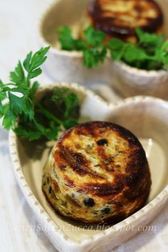 Senza Sale in Zucca: Tortino di asparagi con cetriolini ed olive
