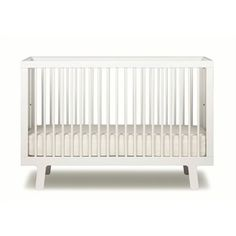 Oeuf Sparrow Crib -- Oeuf believes that good design is for all ages and the Sparrow Collection is the epitome of this belief. At the center of the collection is the Sparrow Crib. Expertly crafted in Europe from solid birch, the Sparrow Crib is eco-friendly, sturdy, safe and easy to assemble. Clean lines, subtle color and modern European style.