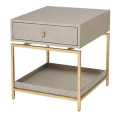 guest room side table – Studio A, 'alexander' side table
