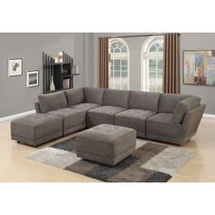 24 Best Modular Sectional Sofas With Curved Or Angled Corner Images