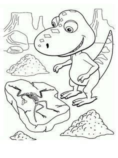 Dinosaurios para niños para colorear
