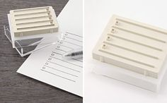 Check List Stamp | 20 Muji Products