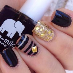 Super cute! A Nail Addict Named Sonia @badgirlnails Instagram photos | Websta