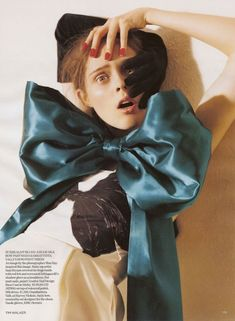 Coco Rocha photographed by Tim Walker for Vogue UK Nov 2006