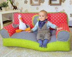 Mini bean bag chair for kids without filling от Magicbeanbag