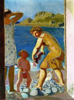 At the Cabin Door, 1928 / Maurice Denis