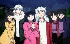 Inuyasha Fan Art, Inuyasha Love, Miroku, Kagome Higurashi, Inuyasha And Sesshomaru, Inazuma Eleven Go, Girl Photo Poses, Anime Shows, Sword Art Online
