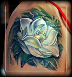 Magnolia Tattoo on Pinterest | Dogwood Tattoo, Dogwood Flower ...