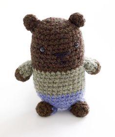 Amigurumi Bear Pattern (Crochet)