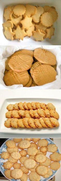 GALLETAS, DULCES CASERAS. #receta #recipe #casero #torta #tartas #pastel #nestlecocina #bizcocho #bizcochuelo #tasty #cocina #chocolate #galletas #dulces Galletas dulces, ingredientes: 4 Tazas de harina, 2 Tazas de azúcar, 1/2 cucharadita de sal 1 cucharadita de levadura en polvo o polvo de hornear, 250 gramos de m...