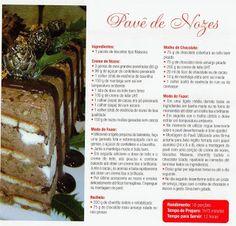 """""""Pavê de Nozes"""" ou """"Charlotte de Nozes"""" do Chef Álvaro Rodrigues"""