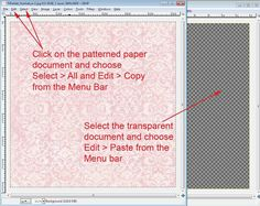 transparent documentDigital Scrapbooking, Your First Digital Layout using GIMP