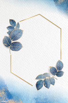 phone wall paper blue Leafy blue h - phonewallpaper Framed Wallpaper, Phone Wallpaper Images, Flower Background Wallpaper, Flower Backgrounds, Background Patterns, Wallpaper Backgrounds, Iphone Wallpaper, Frame Background, Wallpapers