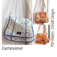 The Genevieve Bag - PDF Pattern