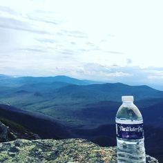 Wherever you go take us with you. #drinkup #h2ofcourse #whitemountains #hiking by wearethewaterguy