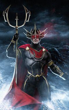 Galaxy Fantasy: Fan Art de Patrick Wilson como Ocean Master en el Aquaman de James Wan