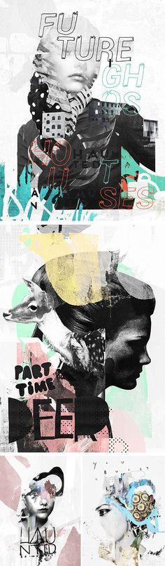 Creative Http, Www, Colagene, Fr, and Illustration image ideas & inspiration on Designspiration Collage Poster, Dm Poster, Poster Design, Graphic Design Posters, Graphic Design Inspiration, Typography Design, Collage Art, Graphic Art, Illustration Design Graphique