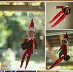 Elf swinging