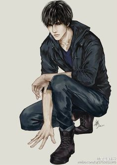 Pin by olivia on 盗 墓 笔 记 anime art, handsome anime, anime ch Boy Character, Character Drawing, Character Design, Manga Art, Manga Anime, Anime Art, Hot Anime Boy, Anime Guys, Handsome Anime