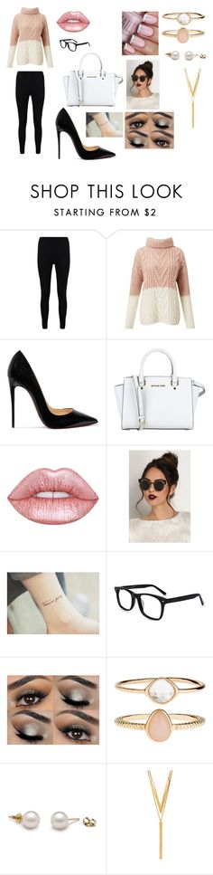 """""""Untitled #130"""" by photogrpahyphreak on Polyvore featuring Boohoo, Miss Selfridge, Christian Louboutin, MICHAEL Michael Kors, Lime Crime, Accessorize and BERRICLE"""