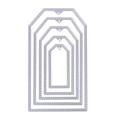 WinnerEco 5pc Sewing Frames Cutting Dies Stencil Metal Mould for DIY Scrapbook Album Paper Card ** Want additional info? Click on the image.