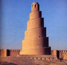 La grande mosquée de Samarra (Iraq) - Ankh-Neferkheperou-Rê
