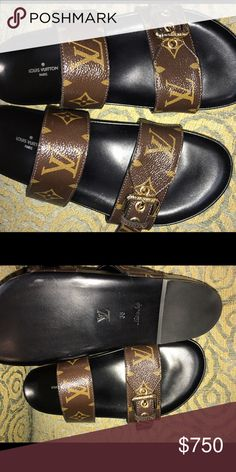 Authentic Louis Vuitton Sandals. Never Worn Brand-new Louis Vuitton sandals in size 38. Never worn with receipt Louis Vuitton Shoes Sandals