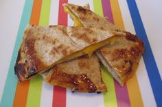 Apples Honey & Cheese Quesadilla — Punchfork