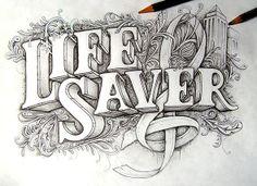 """""""Dribbble   lifesaver full.jp…"""" on Designspiration"""