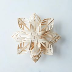 Woven Star Tree Topper on Food52
