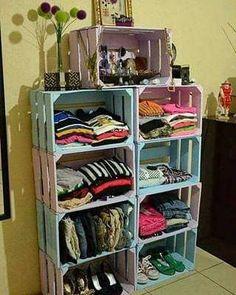 Diy home decor Diy Dorm Decor, Dorm Decorations, Bedroom Decor, Crate Furniture, Diy Pallet Furniture, Shoe Storage Cabinet, Home Organization, Home Projects, Design