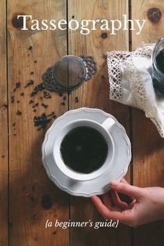 Tasseography {a beginner's guide} {tasseography} the ancient art of divining the future from tea leaves Step 1 Brew your favourite loose-leaf tea as usual, using a cup & saucer. Do not strain your tea; allow the leaves to gather in