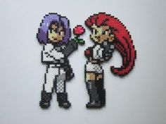 Team Rocket by 8-BitBeadsStudio