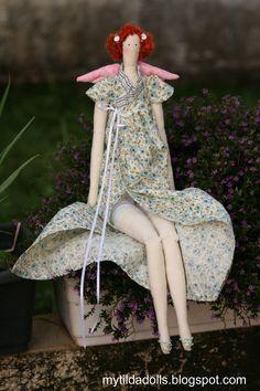 My Tilda Dolls: Jane Austen Angel Doll by Daniella Prado