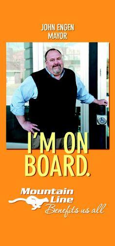 "The Mayor is ""On Board"""