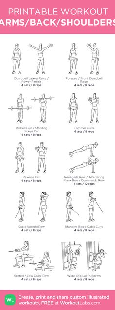 ARMS/BACK/SHOULDERS: