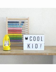 #Lightbox Small A5 #Kidsroom #Interior from www.kidsdinge.com    www.facebook.com/pages/kidsdingecom-Origineel-speelgoed-hebbedingen-voor-hippe-kids/160122710686387?sk=wall         http://instagram.com/kidsdinge #Kidsdinge #Toys #Speelgoed
