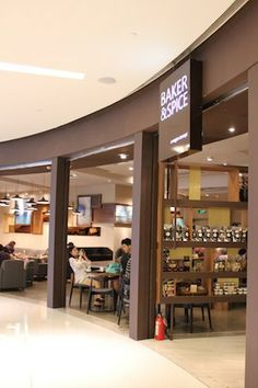 Baker&Spice at IFC mall. Open early and spacious.