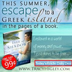 Today Only - Isle of Shadows is the Kindle Daily Deal!