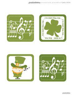 FREE St.Paddy's day Printable Beer Coasters from SunshineLemons... http://sunshinelemons.weebly.com/