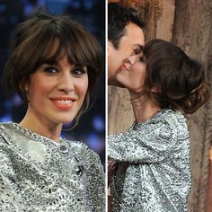 alexa chung | Alexa Chung's Hair and Makeup Look From the Late Night With Jimmy ...