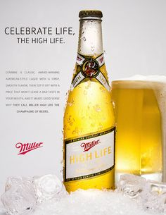 Beer Photography - Miller High Life - Miami Ad School by Uribe85, via Flickr