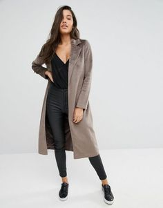 e02b24898311 Missguided manteau imitation peau de poney
