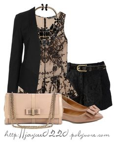 """""""Black, Lace & Nude"""" by jaycee0220 ❤ liked on Polyvore featuring mode, Diane Von Furstenberg, Sperry Top-Sider, Alexander McQueen, J.Crew, Dsquared2, Topshop et Christian Louboutin"""