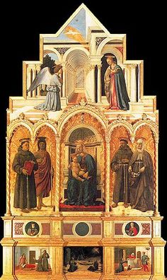 Il Polittico di Sant'Antonio è un'opera, tecnica mista su tavola (338x230 cm), di Piero della Francesca, databile al 1460-1470 circa e conservata nella Galleria nazionale dell'Umbria di Perugia.